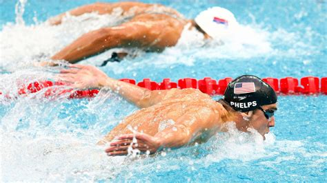 michael phelps natation olympics race  hd natation swimming