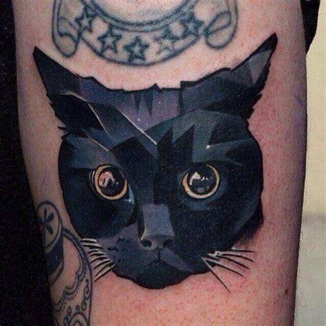 cat tattoo dallas 1000 ideas about geometric cat tattoo on pinterest