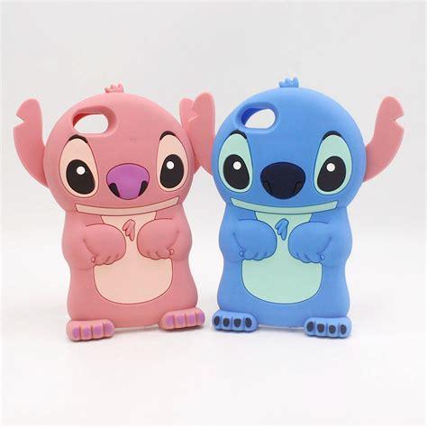 Iphone 5 5s 5c Se Line 3d Softcase luxury lilo stitch phone cover for iphone 7 plus 4 4s 5 5s se 5c 6 6s plus 7plus 6plus