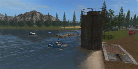 Fishing Ls by Ls11 Boat Fishing River V 1 0 Ls 17 Farming Simulator