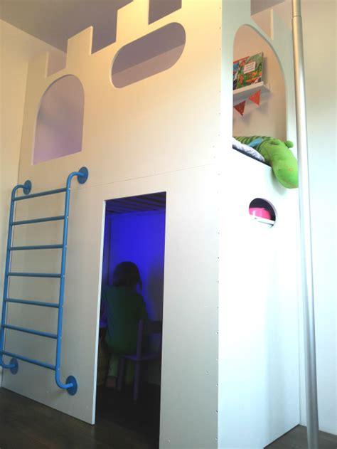 stolmen bed hack castle playhouse loft bed ikea hackers ikea hackers