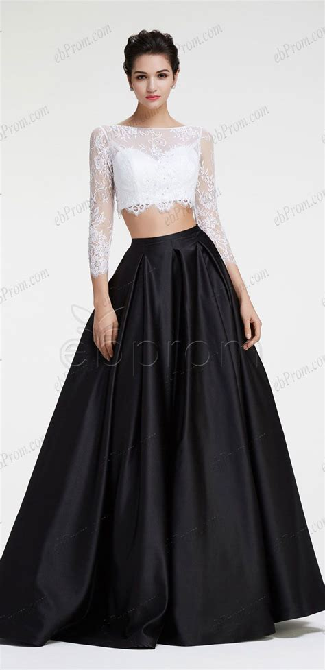 black and white long sleeve red dress best 25 black and white prom dresses ideas on pinterest