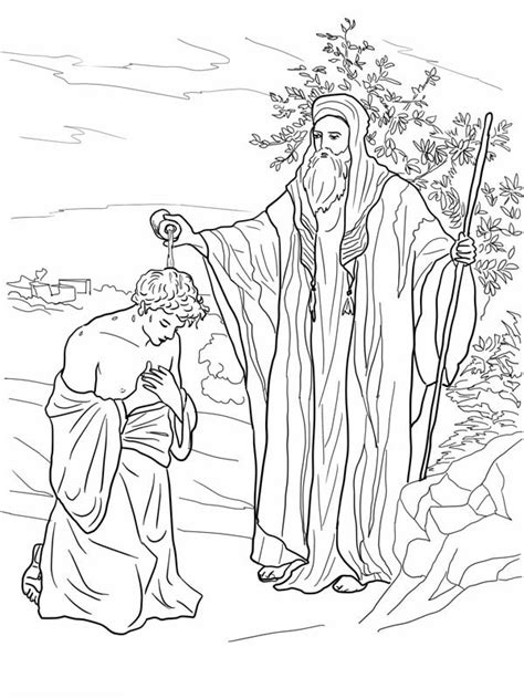 free coloring pages of king david david becomes king coloring page az coloring pages