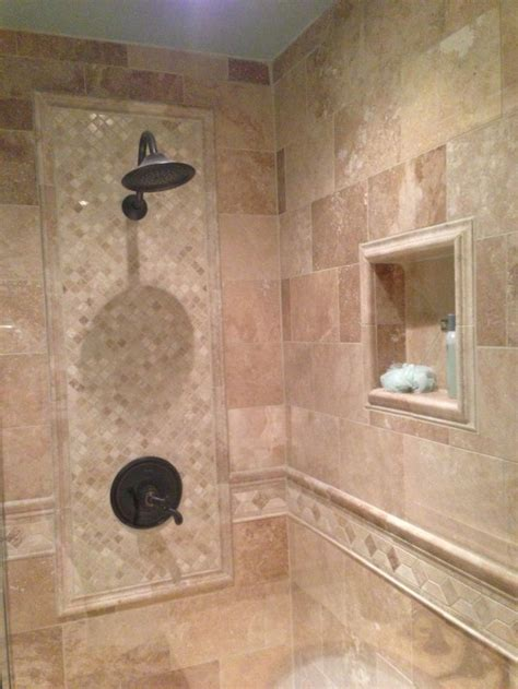 Wall Tile Designs Bathroom by Best 25 Shower Tile Designs Ideas On Shower