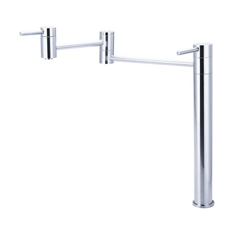 Stainless Steel Pot Filler Faucet by Shop Pioneer Industries Motegi Stainless Steel 2 Handle