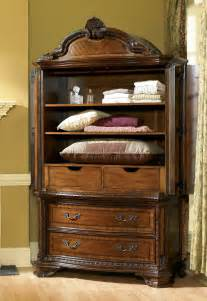 furniture bedroom armoire set 143160 2606 hickory