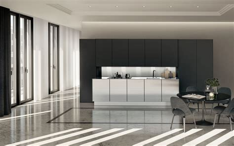 cuisine pur馥 siematic minimalist kitchen design maximum precision