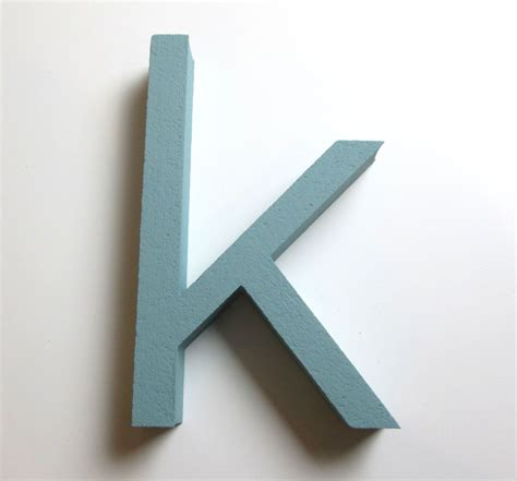 Styrofoam Letters