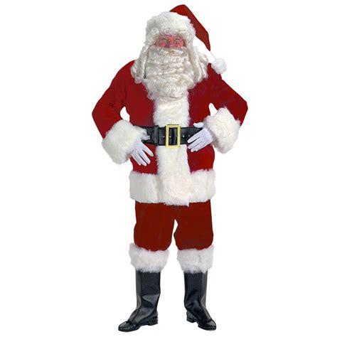 master halco xxxl professional velvet santa claus suit