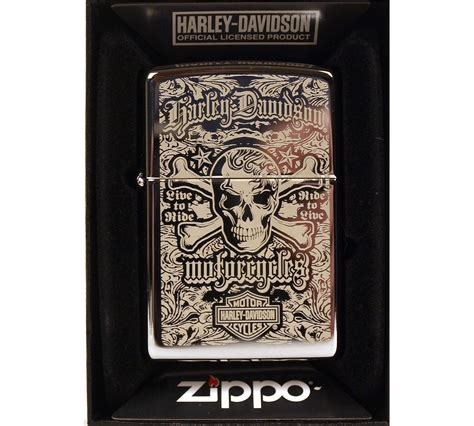 Harley Davidson Zippo Lighter by Harley Davidson Ride To Live Zippo Lighter Pink Cat Shop