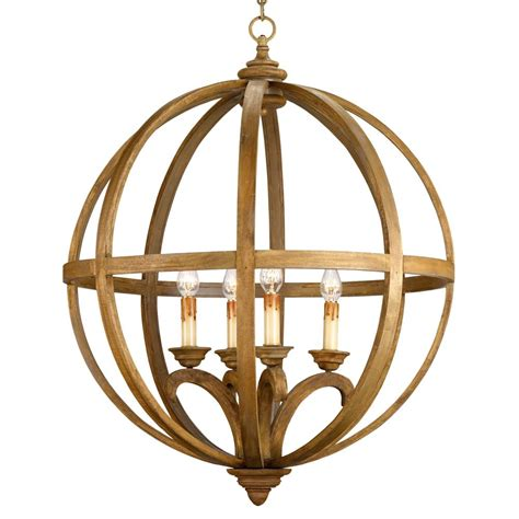 Circular Chandelier Drexel Orb Curved Wood Pendant Chandelier L 32 Inch Kathy Kuo Home