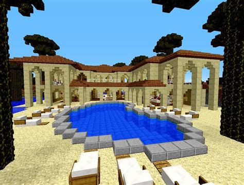 minecraft beach house minecraft beach house nice beach houses and pools