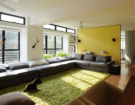 modern area rugs for living room modern living room with green area rug