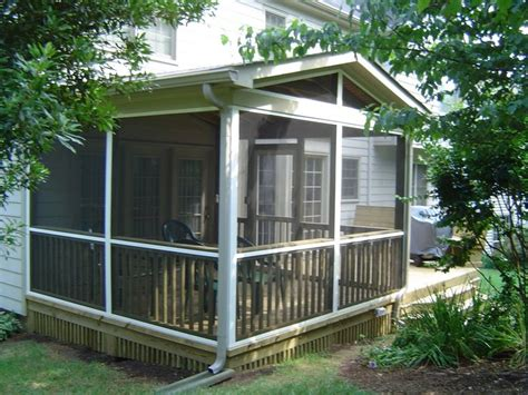 home depot screened  porch kits screen porch