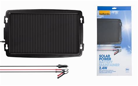 battery charger halfords products halfords 2 4w solar battery maintainer review