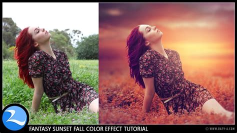 tutorial photoshop untuk photographer photoshop cc tutorial fantasy sunset fall color effects