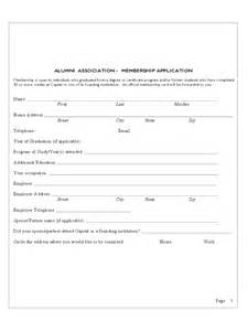 template for registration form in word alumni registration form 2 free templates in pdf word