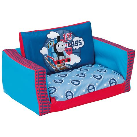 thomas the train fold out couch thomas the tank engine flip out sofa ebay