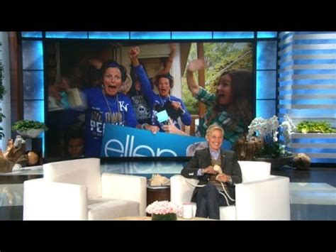 How To Get Tickets To Ellen S 12 Days Of Giveaways - world series superfans get tickets from ellen youtube
