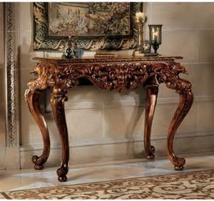 Antique Entryway Table Buy Low Price Antique Replica Carved Console Foyer Table Ks2128