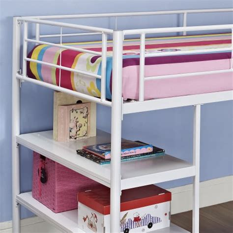 loft bed accessories we furniture twin low loft metal bed white beds