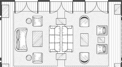 Living Room Furniture Drawings Yellow Living Room Floor Plan Space Planning