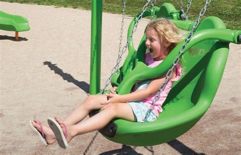 freedom swing freedom swing seat inclusive secure playground swings
