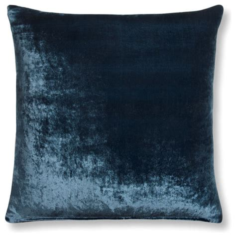 china blue velvet pillow cover two sizes 16 quot x 12