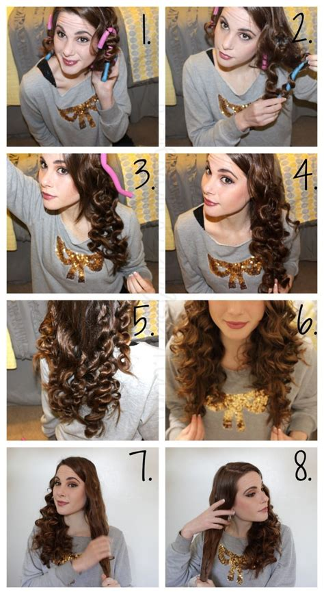 princess hairstyles noodle curls how to curl your hair without heat overnight google