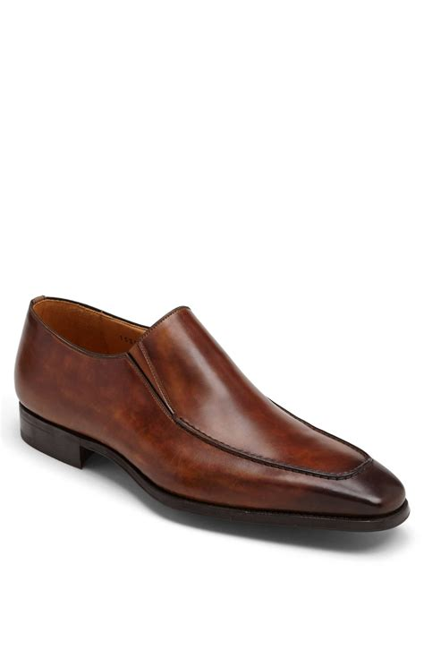 venetian loafer magnanni leo venetian loafer in brown for mid brown