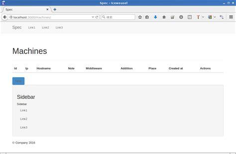 bootstrap layout gem railsにbootstrapデザインを適用する をやってみた qiita