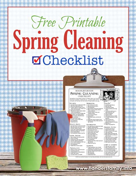 spring cleaning checklist room by room room by room spring cleaning checklist flanders family