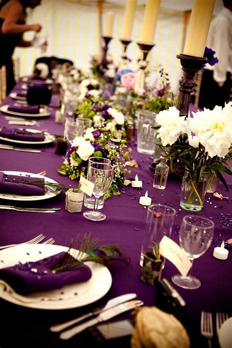 wedding table settings purple project wedding photos project wedding