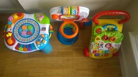 Baby Walker Winfun educational toys set vtech babywalker fisherprice basketball winfun activity table for sale in