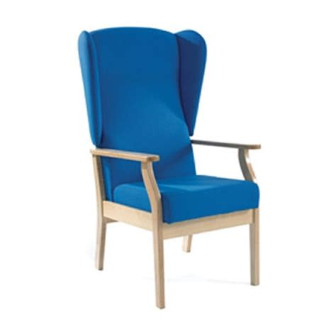 chair for back patient sunflower high back patient arm chair with wings