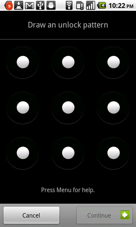 android screen lock pattern reset tip accidentally set unlock pattern on your android here
