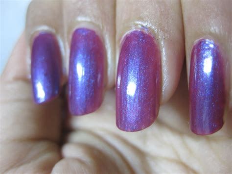 Revlon Lipstick Icy Violet revlon icy violet nail swatches and review trendy