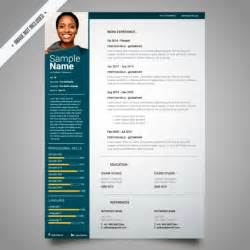 Template Curriculum by Curriculum Template Design Vector Free