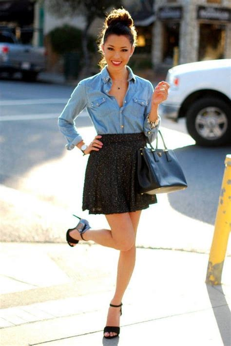 skater skirts 20 ways to wear skater skirts