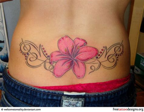 tattoo back necklace 23 best lower back tattoo gallery images on pinterest