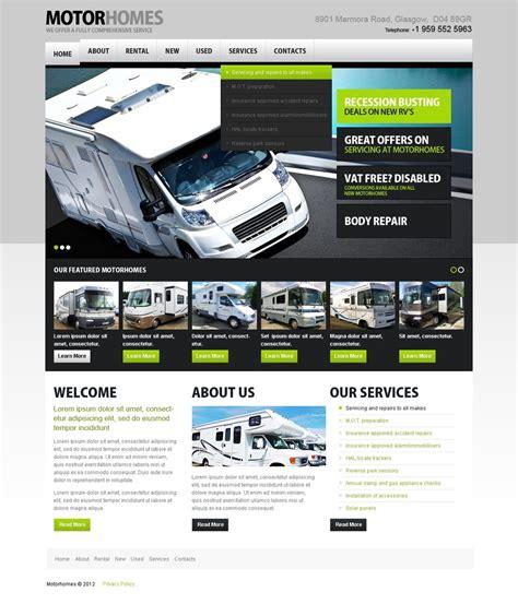Car Rental Website Template 37583 Rental Website Templates