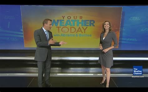 weather channel girl stephanie pictures to pin on mike bettes stephanie abrams the weather channel