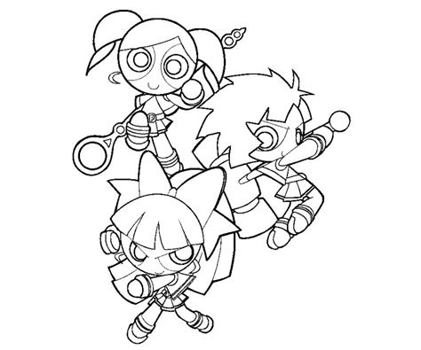 Powerpuff Z Coloring Pages Free Powerpuff Girls Z Coloring Pages Az Coloring Pages