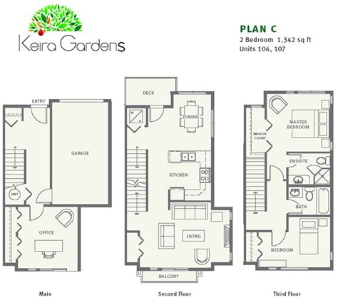 townhouse floorplans new vancouver condos for sale presale lower mainland