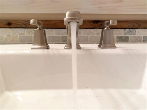 diy replace kitchen faucet how to replace a bathroom faucet how tos diy