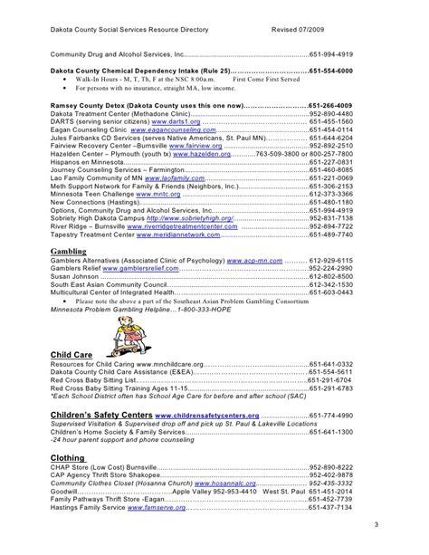 Dakota County Detox by C F Resource Directory