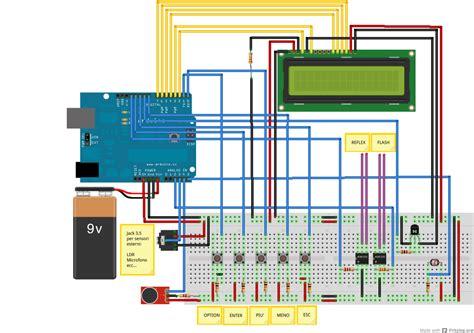 arduino antifurto casa triggert intervallometro quarta parte mauro alfieri