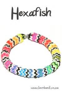 hexafish loom band bracelet tutorial loomband