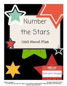 Number The Stars By Lois Lowry Theme Themes Symbols
