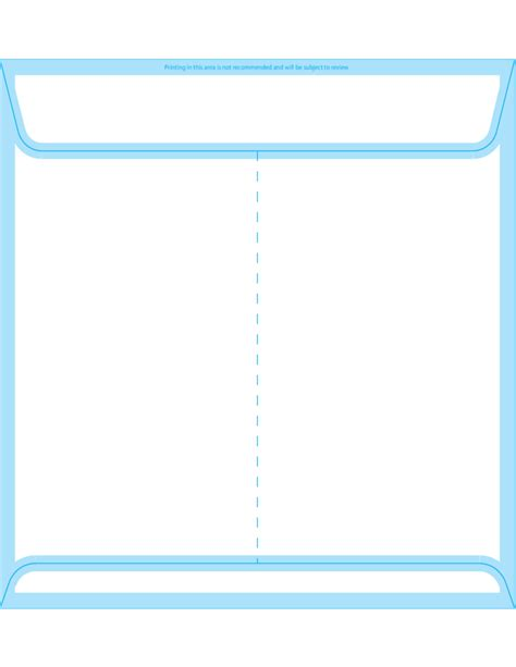 square envelope template square envelopes 9 x 9 back free